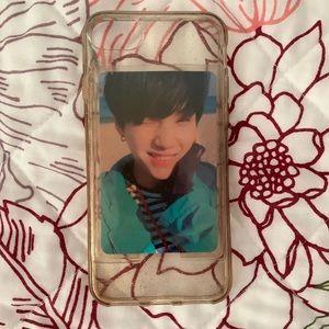 Accessories - ✨Sparkle iPhone 6/6s Case w/ photo pocket kpop✨